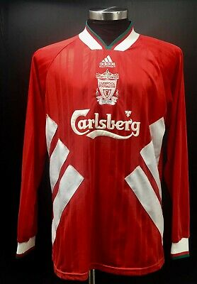 Liverpool Player Issue Home Long Sleeve Football Shirt 1993 - 1994