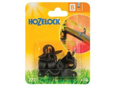 Hozelock HOZ2771 Mural Clip 13mm (10 Pack)
