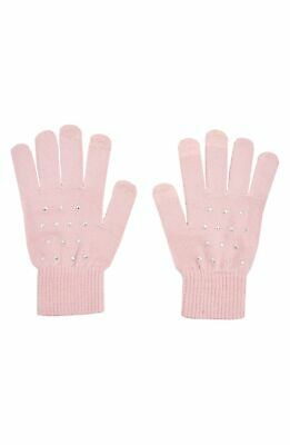 Topshop 146190 Star Gloves Nude One Size