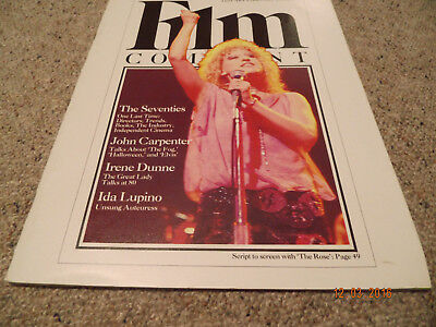Filmzeitschrift Film Comment January-February 1980 Bette Midler very rare!