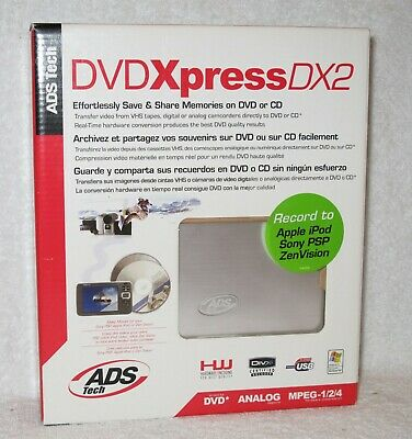 ADS USBAV 192 EF VIDEO XPRESS REV2 WINDOWS 8 DRIVERS DOWNLOAD