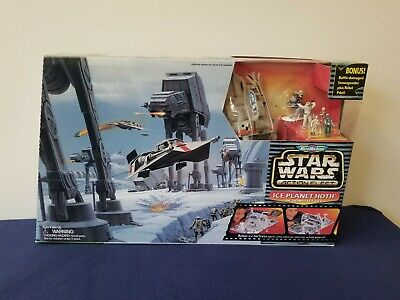 1995 Star wars Action Fleet Ice Planet Hoth Playset By Galoob New in open box