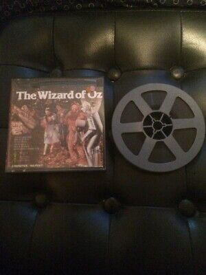 "Wizard Of Oz 8mm Film 5""reel 160ft MGM Judy Garland"