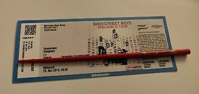 Ein Ticket Backstreet Boys Berlin Innenraum