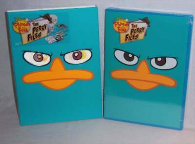 Brand New Disney Phineas And Ferb The Perry Files 2 Disc Tv Dvd 2012 & Slipcover