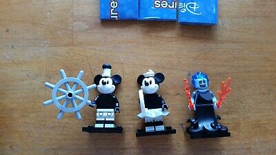 Mickey Mouse/ Minnie Mouse/ Hades Disney Lego Mini Figures Series 2-Opened/New