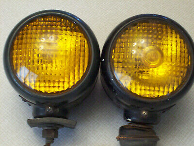Guide D-68 B turn signals, red and amber lenses, fender lights, truck
