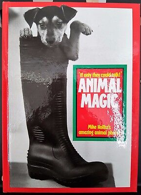 Animal Magic Photos Photography Camera Hardback Book Mike Hollist