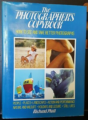 The Photographers Copy Book Photography Camera Book Guide by Richard Platt