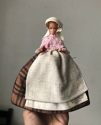 Vintage Cornish Bal Maid Costume Doll By The Little Gallery Chapel St. Penzance