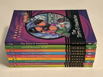 9 ASTRO KIDS Paperback Books By Robert Elmer! Books #2-10