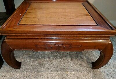 Gorgeous antique/vintage Chinese Rosewood Table! Huanghuali?