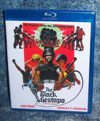 NEW RARE OOP CODE RED THE BLACK GESTAPO aka GHETTO WARRIORS BLU RAY 1974