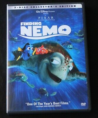 Finding Nemo DVD 2003 2-Disc Set Collector's Edition Disney Family Children Kids