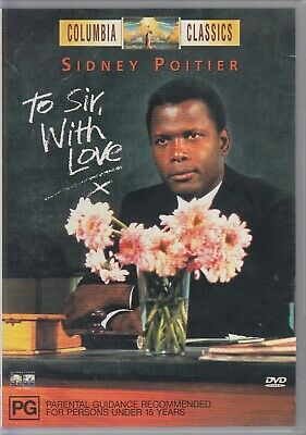 TO SIR, WITH LOVE (1967) Sidney Poitier, Judy Geeson, Christian Roberts - DVD R4