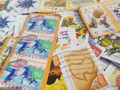 Apx 1000 Australian used stamps High Value-only kiloware Sale DISCOUNTED BULK