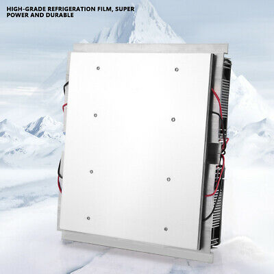 12V Semiconductor Refrigeration Thermoelectric Cooling Panel Module with Fan