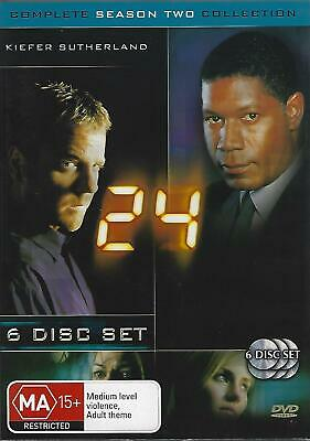 24 – Complete Season 2 / Two – 6 Disc Dvd Set  (Region 4)