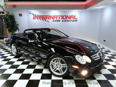 2007 Mercedes-Benz SL-Class SL600 2dr Roadster 5.5L V12 2007 Mercedes Benz SL600 Roadster V12 Bi-Turbo AMG Sport Pkg Dealer Maintained!