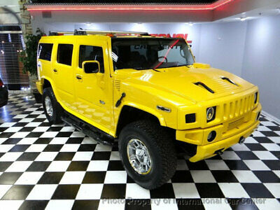 2003 HUMMER H2 4dr Wagon 2003 Hummer H2 4x4 SUV MANY Custom Upgrades DVD's Chrome Wheels LED Lights WOW!