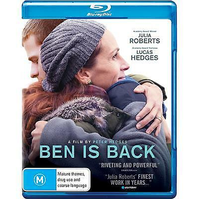 Ben Is Back Blu-Ray New & Sealed, 2019 Release, Free Post.