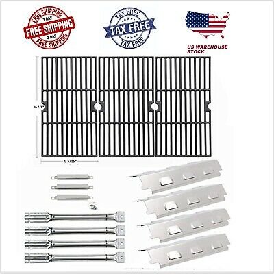 Charbroil BBQ Gas Grill Grid,Burner,Heat Plate,Crossover tubes Replacement Parts