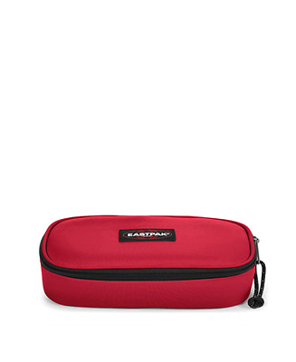 ASTUCCIO eastpak OVAL SINGLE rosso 40V STOP RED con zip EK717 portapenne