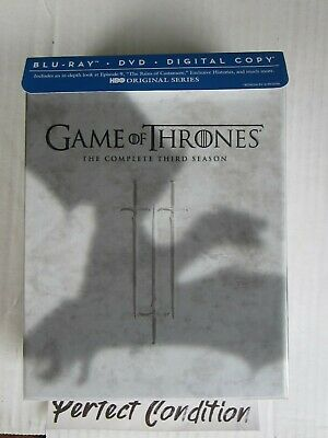 Game of Thrones The Complete Third 3 Season Blu Ray - Perfect Condition
