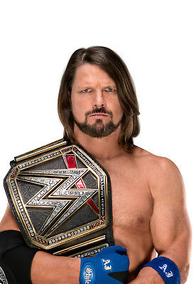 Aj Styles 02 With Belt (Wrestling) Mugs And Photo Prints