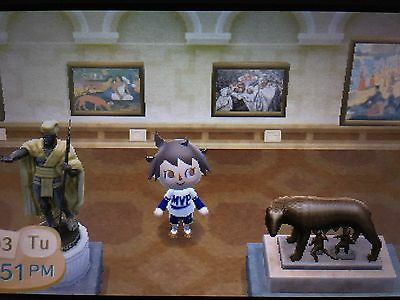 Complete Museum Paintings & Statues - Animal Crossing New Leaf
