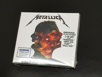 METALLICA Hardwired...To Self-Destruct. 2 CD Album. Brand new & sealed.