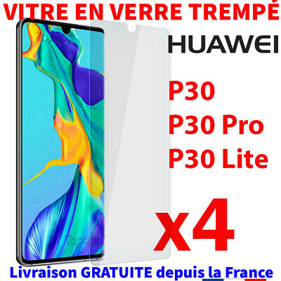 Protection Huawei P30 Pro Lite Verre Trempé Film Transparent Vitre Glass Screen