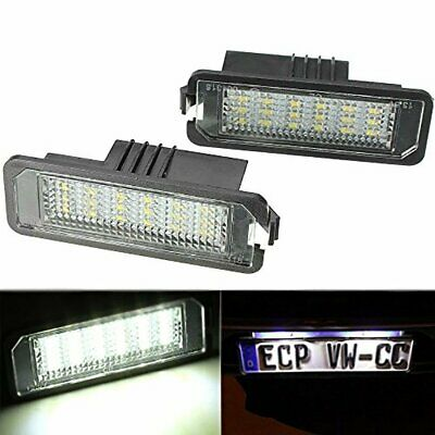 LED Number License Plate Light Lamp Unit fit VW GOLF MK5 V 5 MK6 6 VI Cool White