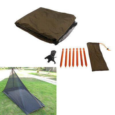 Sport Ultralight Sommer Outdoor Camping 1 2 Person Mesh Zelt