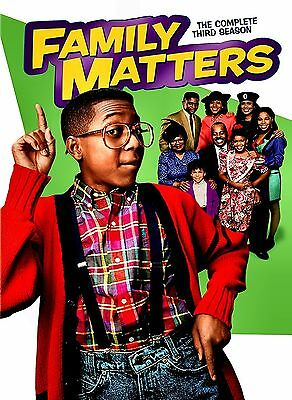 Brand New Family Matters: The Complete Third Season (DVD, 2013) - Brand New