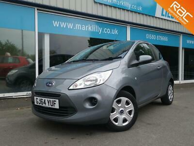 2014 FORD KA 1.2 ( 69ps ) 2014MY Edge £30 ROAD TAX 55 + MPG GREAT ECONOMY cars