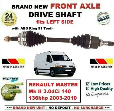 03/>ONWARD RENAULT MASTER 3.0 AMBULANCE DRIVESHAFT CV JOINT /& CV BOOT KIT NEW