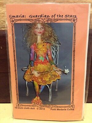 Cloth Doll Sewing Pattern 'Ilmaria: Guardian Of The Star' By Patti Medaris Culea
