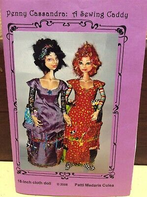 Cloth Doll Sewing Pattern By Patti Medaris Culea