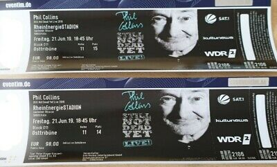 Phil Collins, 2 Tickets, Köln, 21.06.2019