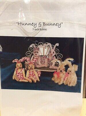 Rabbit Sewing Pattern 'Hunney & Bonney' By Margaret McEvoy