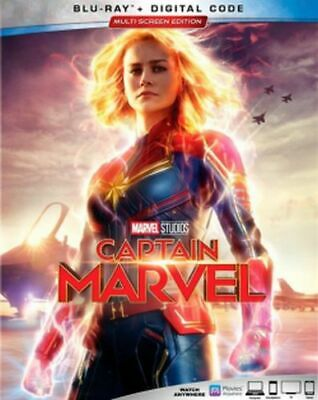 Captain Marvel Blu-ray/Digital NEW Brie Larson, Samuel L. Jackson