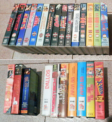 LOTE 25 VHS (MANGA ANIME) Macross, Alita, Porco Rosso, Ghost in the Shell, etc.