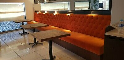 Kitchen bar pub restaurant bench banquettes booth seating,  made to measure