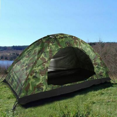 Travel Camping Camouflage Tent Outdoor Recreation Double Couple Camping Tents