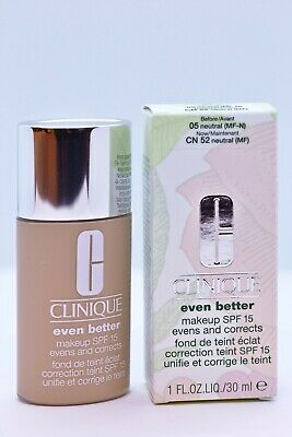 Maquillaje Antimanchas Even Better Clinique CN 52 NEUTRAL 30 ml