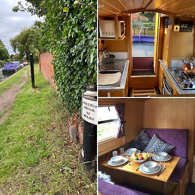 7 Days (6 Nts) Narrowboat Holiday Hire in October, Canal, Boat, Trent & Mersey