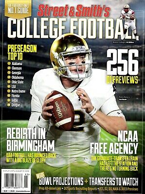 Street & Smith's Magazine 2019 College Football Preview Notre Dame IAN BOOK