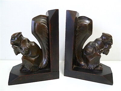 Bookend Books Squirrel D Period Art Deco Spelter Bookend French 1925 1930