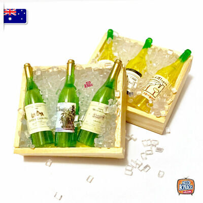 Mini Wine Bottles w mini ice - add to your Coles Little Shop Mini Collectables